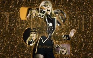 Taylor Swift Wallpaper by rahrahmonster
