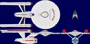 USS Constitution AU TOS Multi by captshade