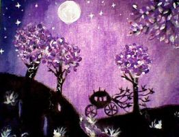Violet Night Visions by ImaginationGoingWild
