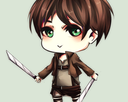 I really like Eren by Mizury