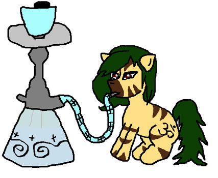 Fumes of the hookah by Freecanternsfw