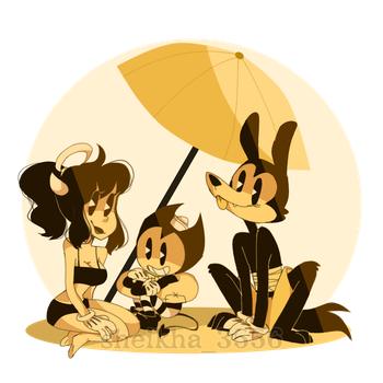 bendy and the ink machine by sheikha3556
