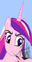 Cadence thinks about eating a ship by OceanRailroader