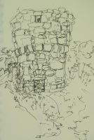 drawings from Ile de Brehat1 by Anna-Maija