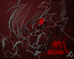 Happy Halloween by Pocketwatch-Prince