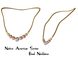 Native Series: Bead Necklace by Sheona-Stock