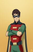 The First Robin (Dick Grayson) commission by phil-cho