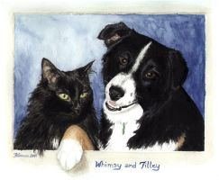 whimsy and tilley by fi-j