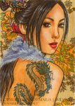 Elegance - ACEO by MJWilliam