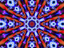 Kaleidoscope Design 15 by DennisBoots