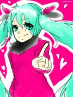 Miku Doodly by mintoreto