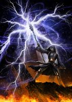 Lightning Fury by John-Stone-Art