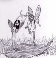 Moth People! by Gennabeec