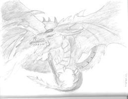 Slifer the Sky Dragon by AceOfKeys72