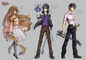 Set Khworld characters (1) by Monekke