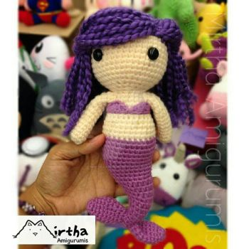 mermaid Amigurumi by MirthaAmigurumis