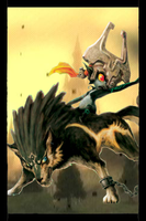 Link Wolf iPhone Home Screen by gameover89