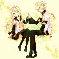 Len And Rin by RikuHaronaX3