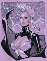 Storm mohawk style by MichaelDooney