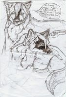 Two Brothers a random page by wolfworld