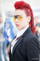 Crimson Viper - Street Fighter IV by Siryna