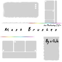 Mask Brushes by xCJx