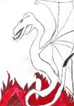 Dragon for Syber666 by scottish-geeky