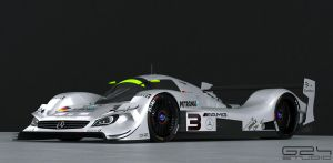 Mercedes lmr1 front by KarayaOne