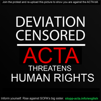 DOWN WITH ACTA by Coraline15