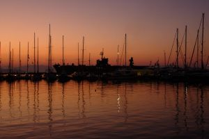 Gaeta Harbor in the morning II by immauss