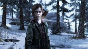 Ellie in the Winter - The last of us by The10thProtocol