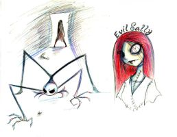 NBC sketches by QGildea