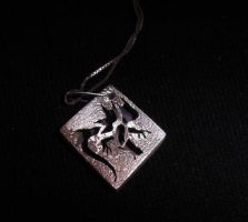 Dragon Box Pendant by Vor4
