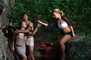 Lilith Confronts Adam and Eve by redvideo