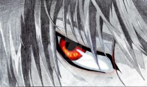 Kira's Eye(Light Yagami) by TheZingar
