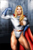 Powergirl-0 by ROCINATE