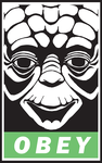 OBEY:YODA by goofoofighter