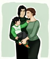 Mommy and daddy s little shamrock by JosieCarioca