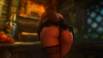 Dat butt #16: The Booty is Back by Toshihirohei