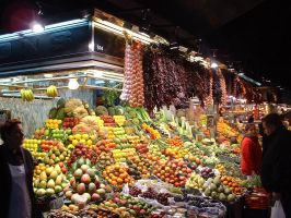 Barcelona Market by FixedWing