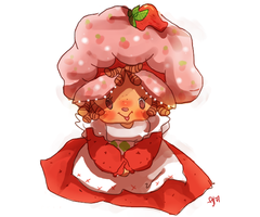 STRAWBERRY SHORTCAKE by candybeyatch