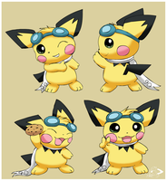 Victory Poses by pichu90