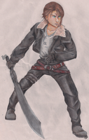 Squall Leonhart by 0amyrose0