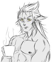Ansem waking up... by lerato