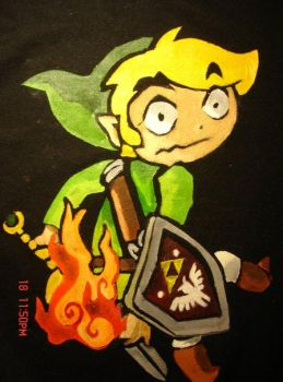 Link Shirt by Jeslye014