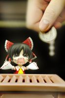 Reimu wants Donation NAOW by RenaissanceOfChaos