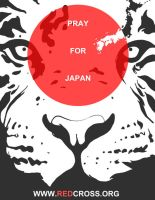 Pray for Japan by TeegKetchen