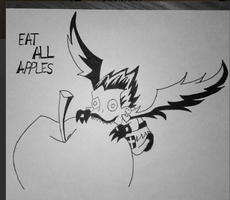 Ryuk - Eat all apples! by Nadesheee