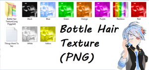 MMD Download_Bottle Hair Texture by FatinFantine