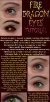 Fire Dragon Eyes Tutorial by JoeleneyBeaney